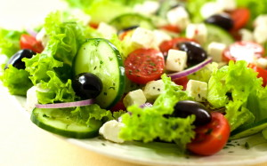 Kreeka-salat-piparmundiga