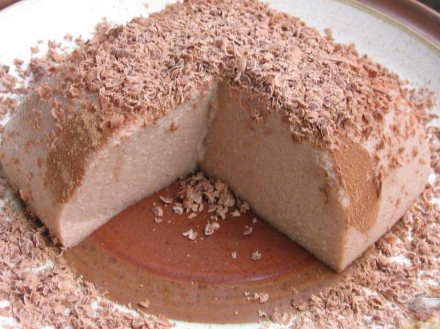 Mannapuder šokolaadiga
