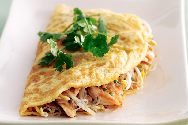 Ahjukana ülejääkidest omlett