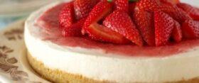 Toorjuustukook (cheesecake) kondenspiimaga