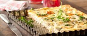 Tursk sulatatud juustu ja spinatiga